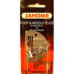 Straight Stitch Foot with Needle Plate (767405018) for Janome