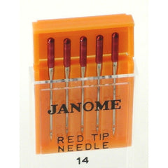 Red Tip / Size #14 / 5 per package (990314109) for Janome