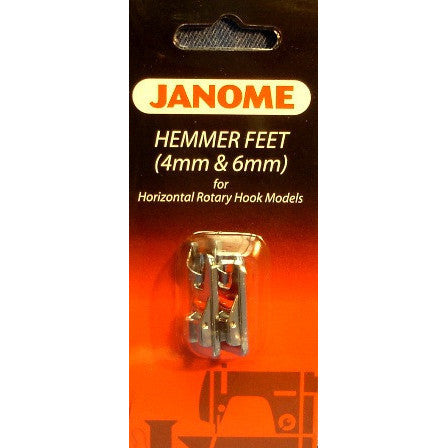 Hemmer Feet Set (4mm & 6mm) (200326001)