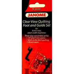 Clear View Quilting Foot and Guide Set (202089005) for Janome