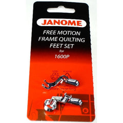 Convertible Free Motion FRAME Quilting Foot Set (767434005) for Janome