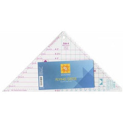 Easy Star and Geese Triangle Ruler from Notions for EZ Tools