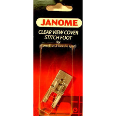 Partial transparent foot for 900CPX (795821103) for Janome