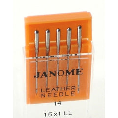 Leather / Size #14 / 5 per package (990614000) for Janome