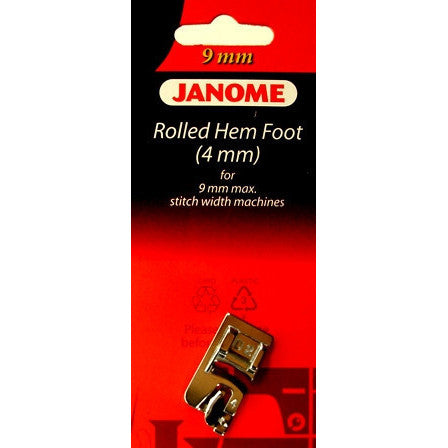 Hemmer Foot (4mm) (202081007)