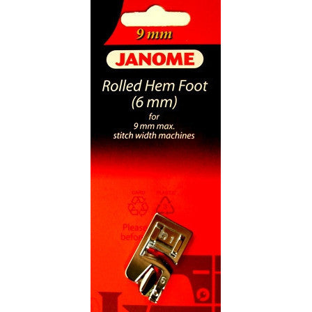 Hemmer Foot (6mm) (202080006)