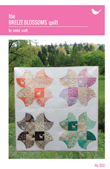 The Breeze Blossoms Quilt – Paper Quilt Pattern from House of Hoppington by Violet Craft for Michael Miller