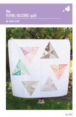 The Flying Falcons Quilt – Paper Quilt Pattern from House of Hoppington by Violet Craft for Michael Miller