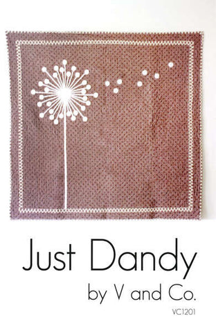 Just Dandy - Paper Quilt Pattern