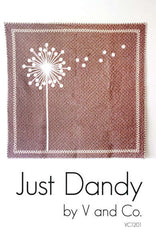Just Dandy - Paper Quilt Pattern by V and Co.