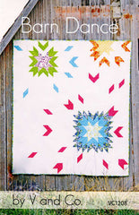 Barn Dance - Paper Quilt Pattern from Color Inspirations Club by V and Co. for Alison Glass Design