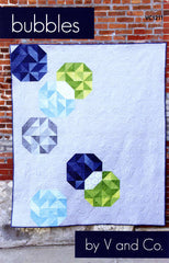 Bubbles - Paper Quilt Pattern by V and Co.