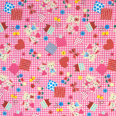 Valentine Gingham in Pink