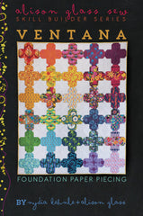 Ventana - Quilt Pattern from Collection by Alison Glass Design for Alison Glass Design