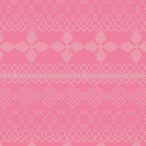 Wild Bloom Cross & Stitch in Candy