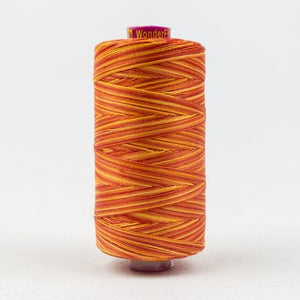 Wonderfil Fruitti 12wt Thread in Tomato - Spool (400m)