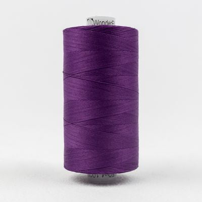 Wonderfil Konfetti 50wt Thread in Purple - Spool (1000m)
