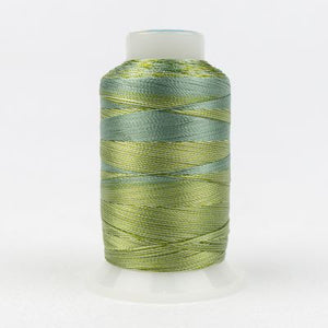 SD01 Wonderfil Mirage 30wt Thread in Avocados - Spool (800m) from Wonderfil Speciality Threads at Pink Castle Fabrics