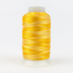 SD36 Wonderfil Mirage 30wt Thread in Oranges/Yellows - Spool (800m) from Wonderfil Speciality Threads at Pink Castle Fabrics