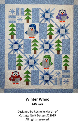 Winter Whoo - PDF Quilt Pattern