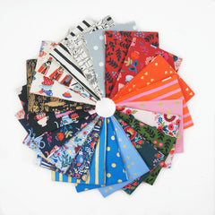 Wonderland - Fat Quarter Bundle from Wonderland by Rifle Paper Company for Cotton+Steel