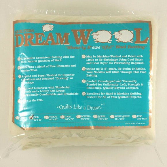 Quilters Dream Wool - Crib (60