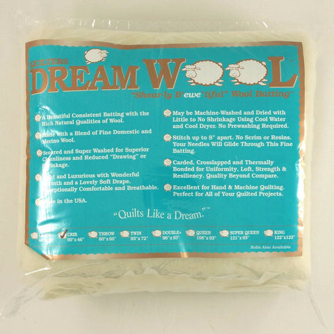 Quilters Dream Wool in Crib Size