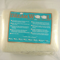 Quilters Dream Wool in King Size for Quilter's Dream