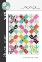 XOXO Quilt - Printed Quilt Pattern by Green Bee Patterns