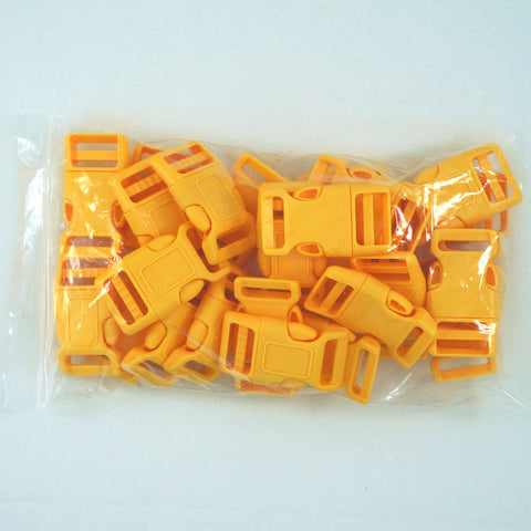 "Side Release Buckle (for 1"" Straps) - Yellow (25-Pack)"