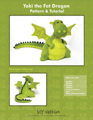 Yoki the Dragon - PDF Accessory Pattern by DIY Fluffies