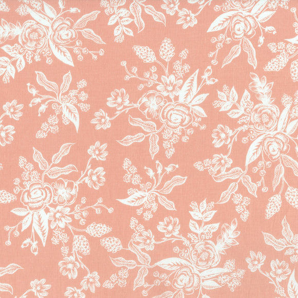 English Garden Toile in Peach