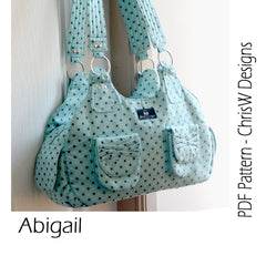 Abigail - PDF Accessory Pattern from Liesl and Co by ChrisW Designs