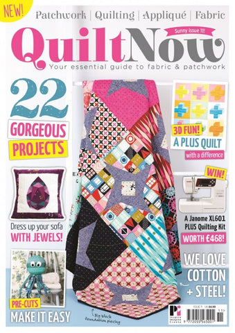 Quilt Now Magazine - Issue 11 - May 2015