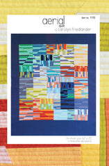 Aerial – Paper Quilt Pattern from Japanese Quilt Artist Series by Carolyn Friedlander for World Book Media