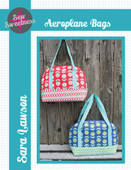 Aeroplane Bag Pattern from Japanese Quilt Artist Series by Sew Sweetness for World Book Media