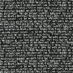 Scribble Notes in Black from Architextures by Carolyn Friedlander for Robert Kaufman