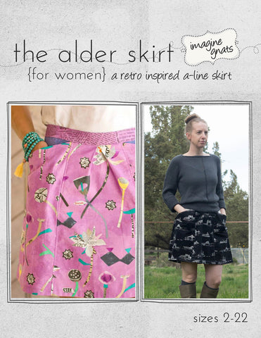 The Alder Skirt (for women) - PDF Apparel Pattern
