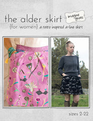 The Alder Skirt (for women) - PDF Apparel Pattern by Imagine Gnats