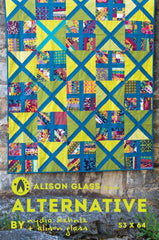 Alternative - Quilt Pattern from Collection by Alison Glass Design for Alison Glass Design