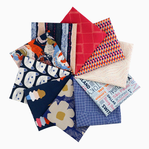 Art District Fusion - Fat Quarter Bundle