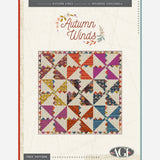 FREE PATTERN Autumn Winds Quilt - PDF Quilt Pattern