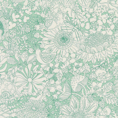 Fairy Land in B from Liberty Tana Lawn by Liberty House Designers  for Liberty