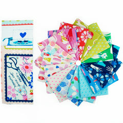 Beauty Shop - Fat Quarter Bundle from Beauty Shop by Sarah Watts for Cotton+Steel
