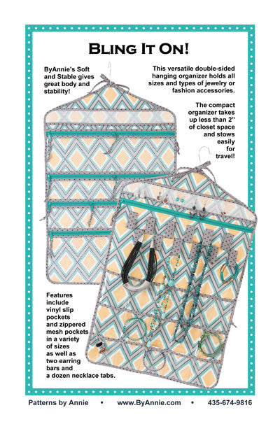 Bling It On! - Printed Bag Pattern