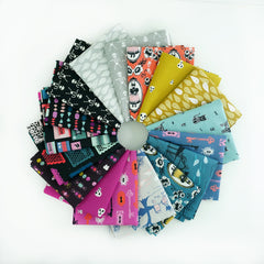 Boo! – Fat Quarter Bundle from Boo! by Multiple House Designers  for Cotton+Steel