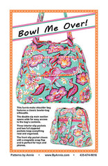 Bowl Me Over! - Printed Bag Pattern from Patterns by Annie by Annie Unrein for ByAnnie