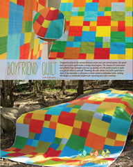 Boyfriend Quilt - PDF Quilt Pattern by Stitch In Dye