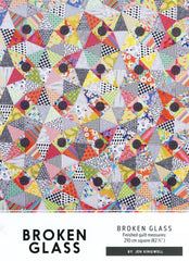 Broken Glass - Quilt Pattern from Japanese Quilt Artist Series by Jen Kingwell Designs for World Book Media