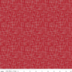 Hashtag Large in Red from Hashtag by Riley Blake House Designers  for Riley Blake